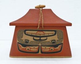 David Boxley (b.1952 Tsimshian) Canoe Bentwood Storage