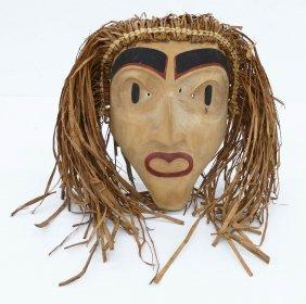Andy Wilbur Peterson (b.1955 Skokomish) Hawk Man Mask