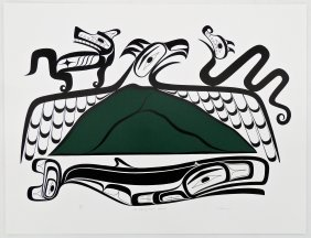 Joe David (b.1946 Nuu-chah-nulth) ''the Life Of Meares