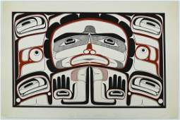 4pc Vin Rickard (20th Cent. American) Native Style