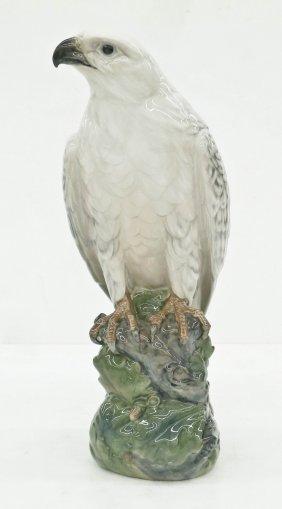 Royal Copenhagen 1661 Icelandic Falcon Porcelain Figure