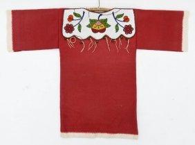 Old Nez Perce Beaded Child's Dress 29''x42''. Ornate