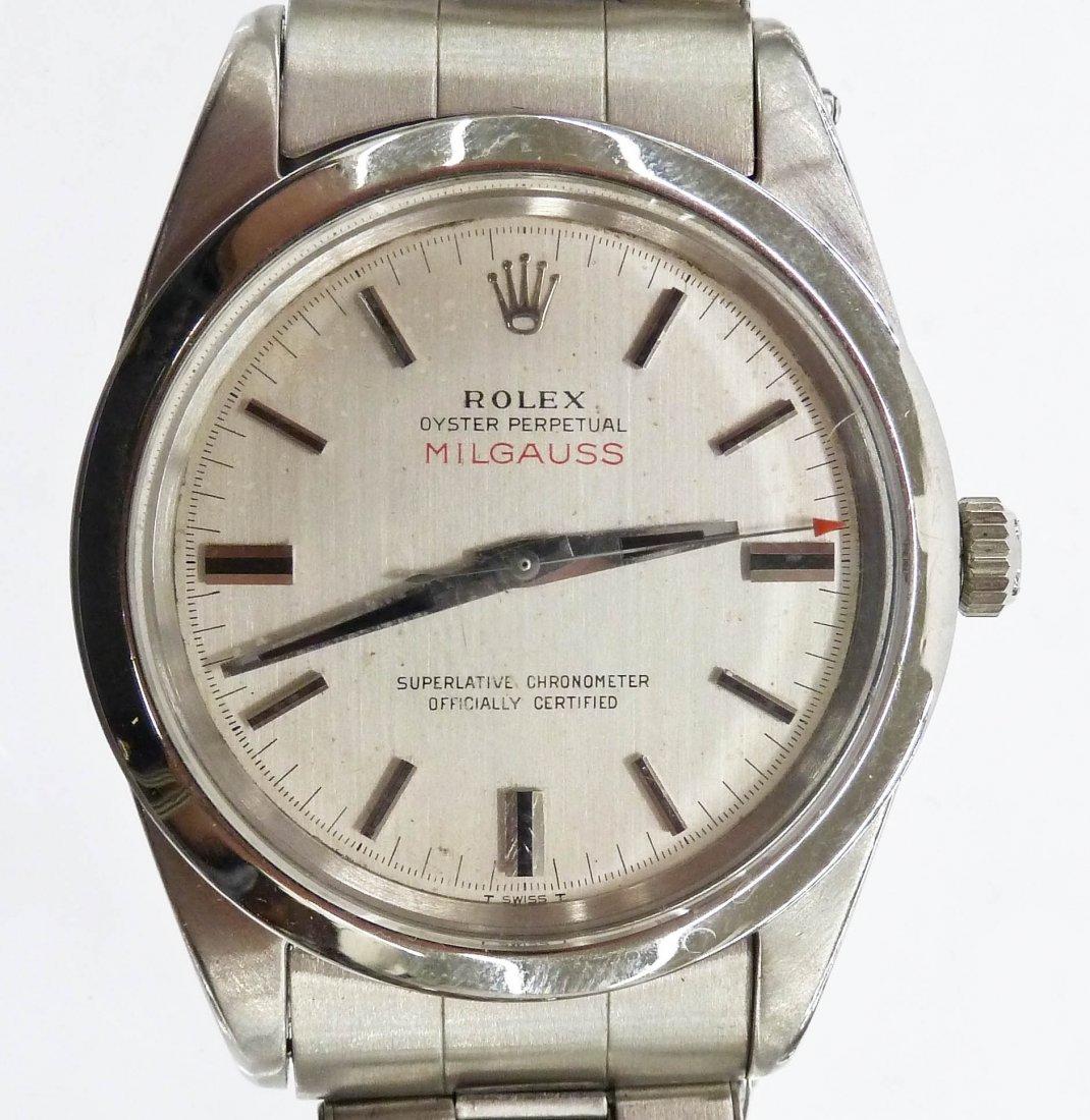 Vintage Men's Rolex Oyster Perpetual Milgauss
