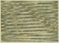 Paul Heald (b.1936 Washington) Untitled Abstract 1984