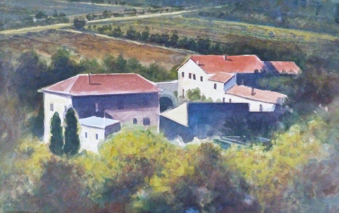 Paul Havas (1940-2012 Washington) ''Farm & Vineyard