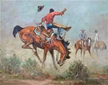 Fred Oldfield (b.1918 Washington) Untitled Bronco