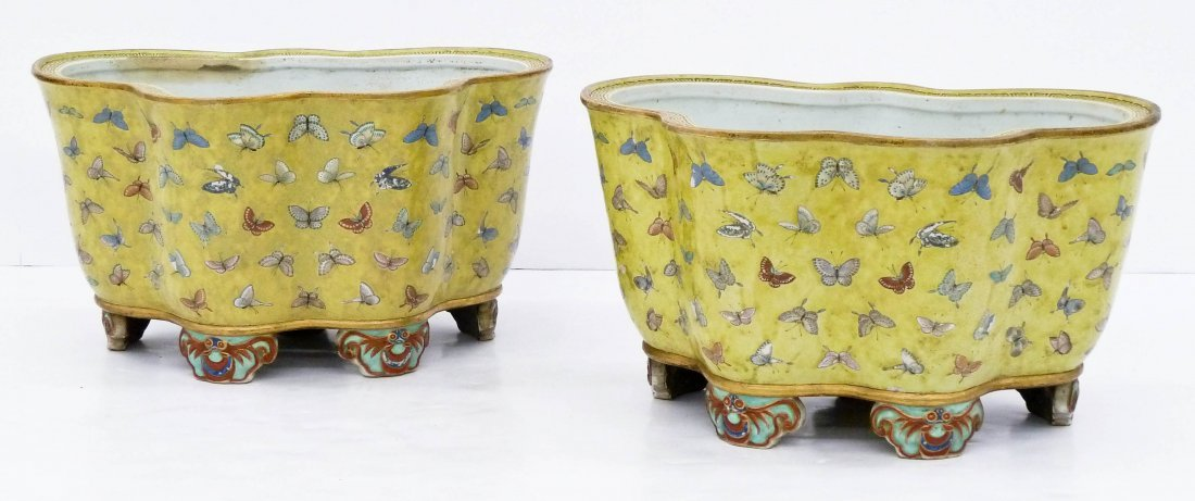 Museum Quality Pair of Antique Chinese Porcelain