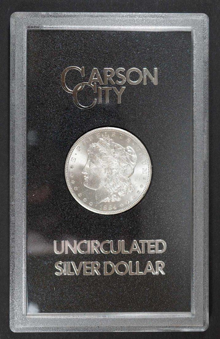 1884 CC GSA Morgan Dollar w/Original Box & COA