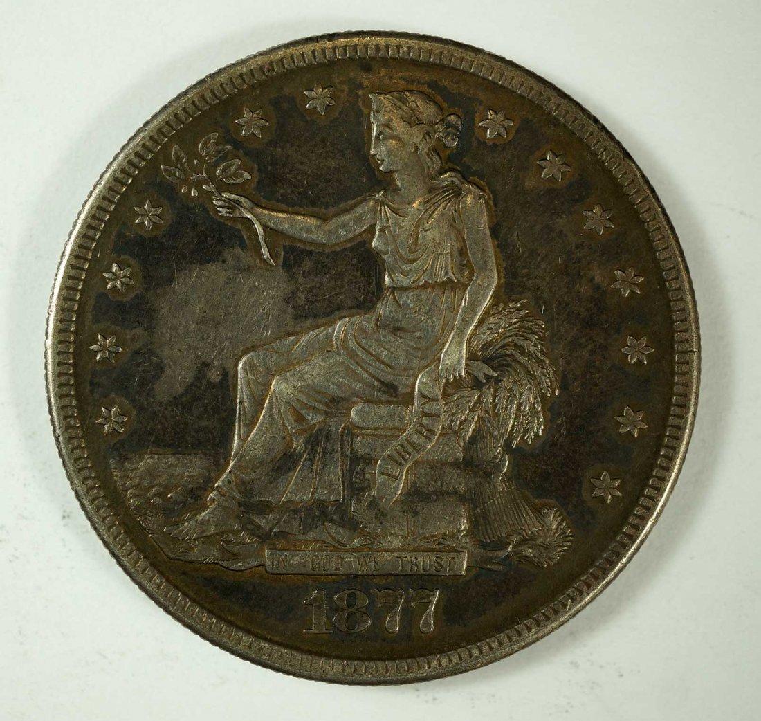 1877-S US Silver Trade Dollar