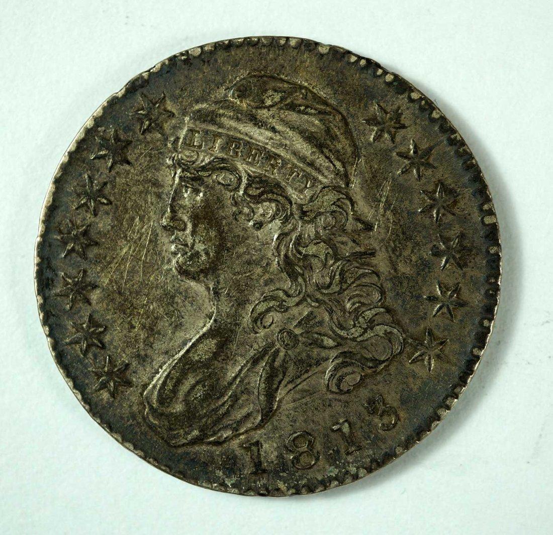 1813 US Capped Bust Half Dollar, Lettered Edge
