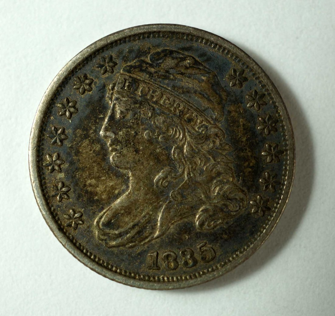 1835 US Silver Capped Bust Dime 10 cent