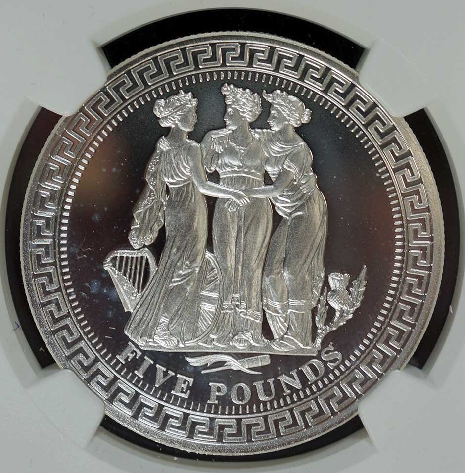 2015 L5 The Three Graces, Susan G. Komen Silver coin,