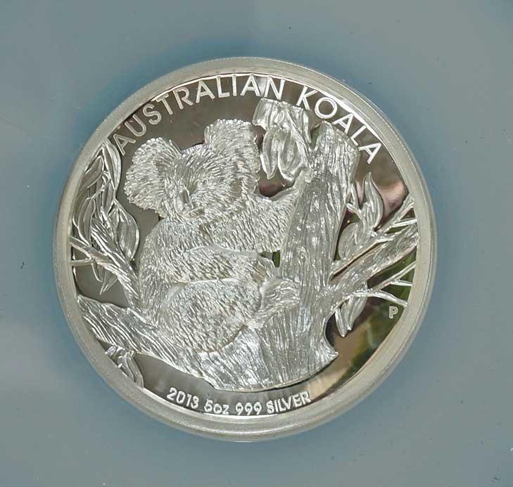 Australia 2013-P Silver $8 Koala High Relief PF69 Ultra