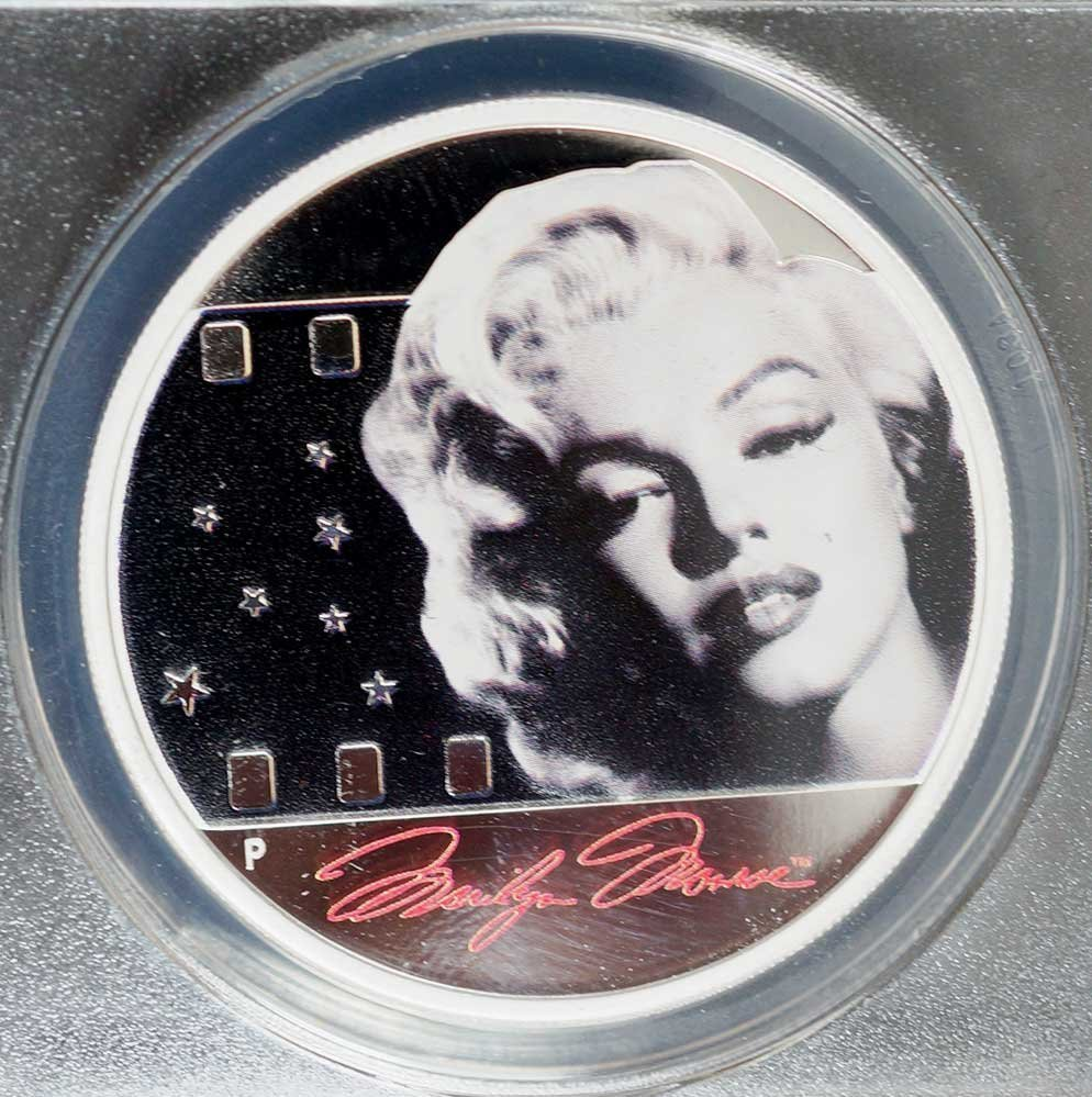 2012-P Marilyn Monroe Silver 1 ounce Proof First