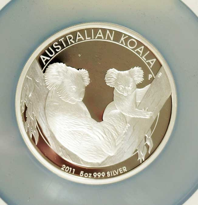 Australia 2011-P Silver $8 Gem Proof Coin, First Year
