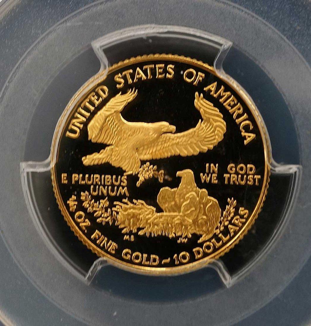 1996-W US $10 Gold Eagle Coin PCGS PR70 DCAM