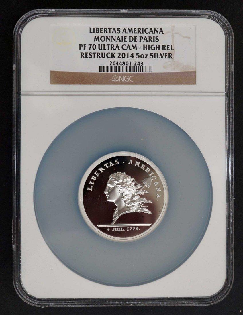 2014 Libertas Americana Monnaie De Paris NGC PF70 Ultra - 2