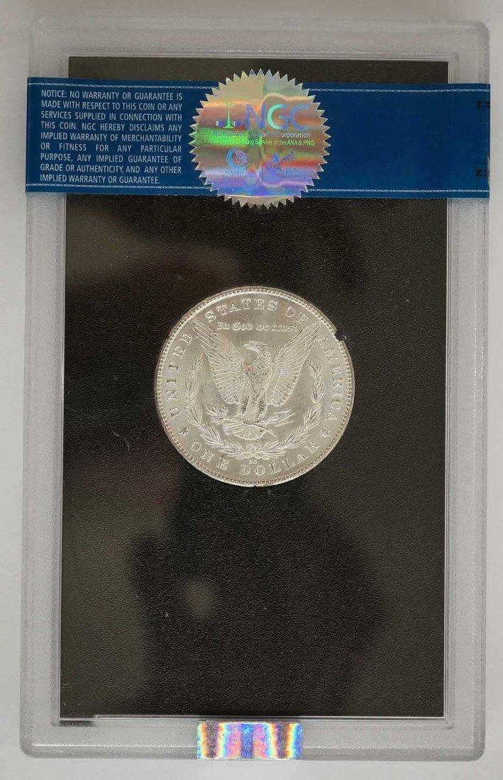 1880-CC GSA Morgan Dollar. NGC Banded MS64 w/Box and - 2