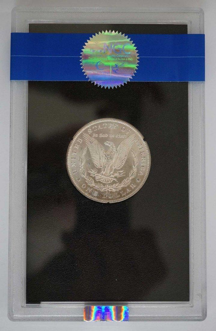 1881-CC GSA Morgan Dollar. NGC Banded MS65 w/Box and - 2