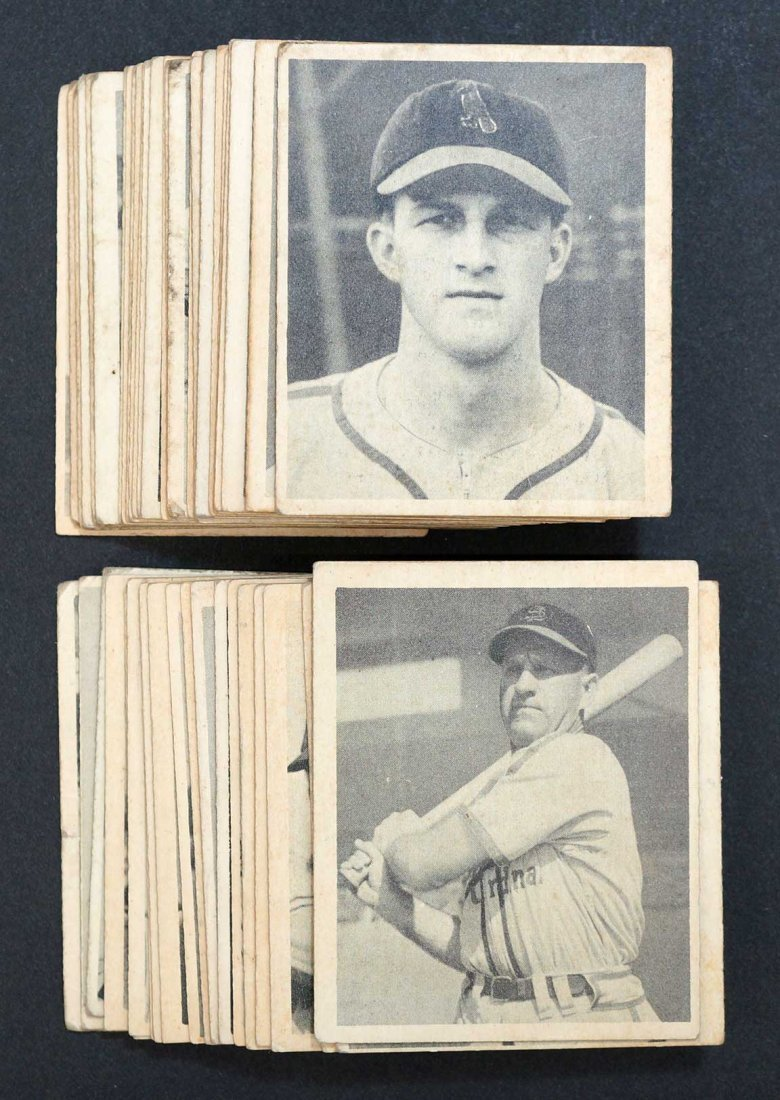 1948 Bowman Near Complete Set (48) Card Set Missing