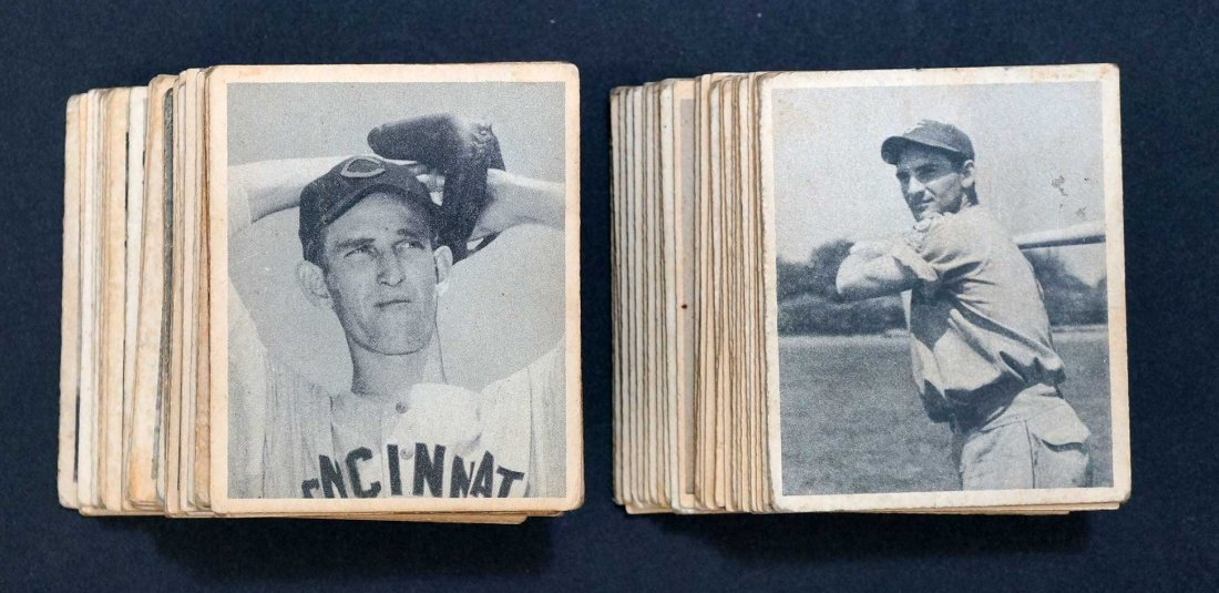 1948 Bowman Group of (64) Cards including 1,2,3,4 (2),