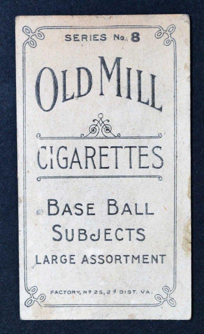 1910 T210 Old Mill Erloff, Nashville Series 8 VG/VG-EX - 2
