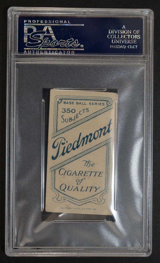 1909-11 T206 George Hunter Tobacco card. Piedmont back - 2