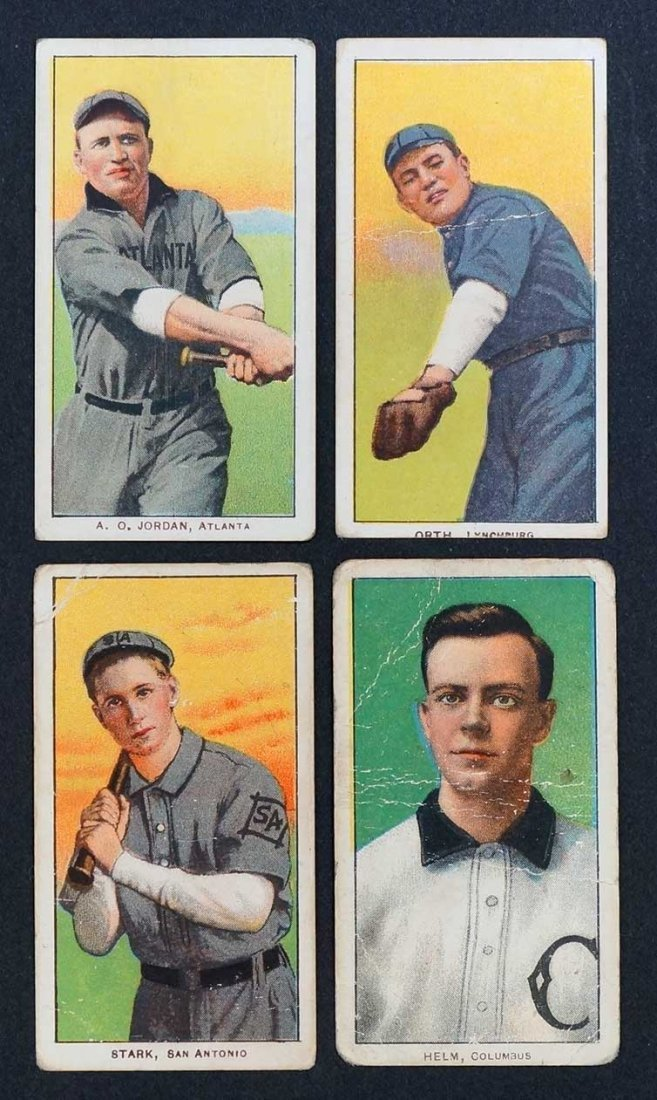 1909-11 T206 White Border Southern League Cards, Old