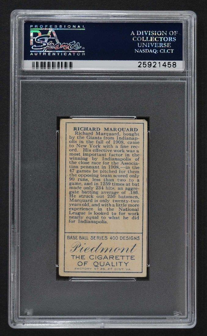 1911 T205 Gold Border R.W. Marquard (PSA 4) - 2
