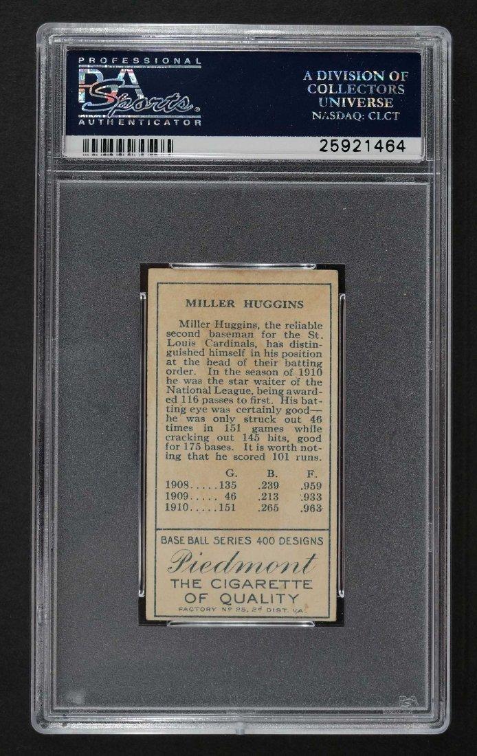 1911 T205 Gold Border Miller Huggins (PSA 4) - 2