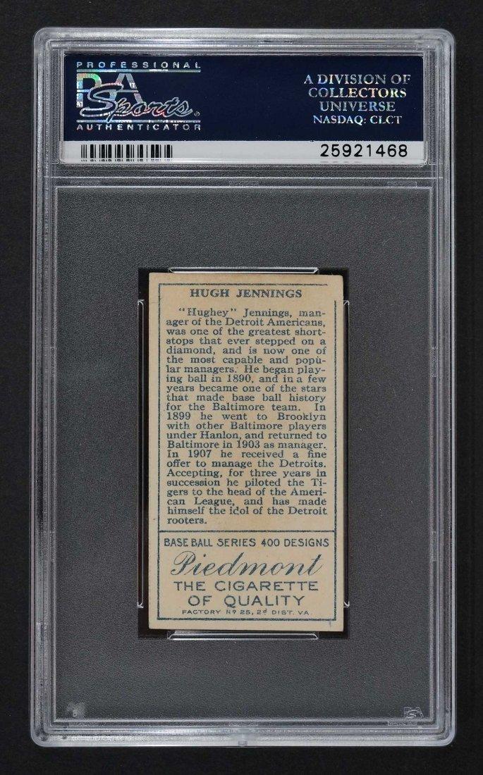 1911 T205 Gold Border Hughie Jennings (PSA 5) - 2
