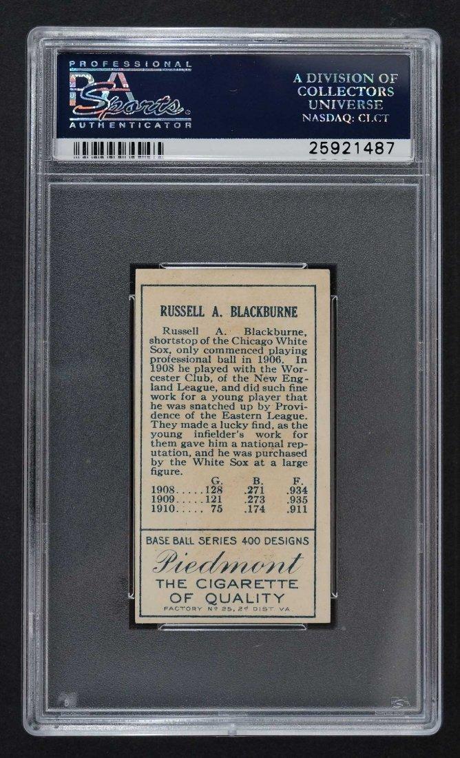 1911 T205 Gold Border Lena Blackburne (PSA 5) - 2