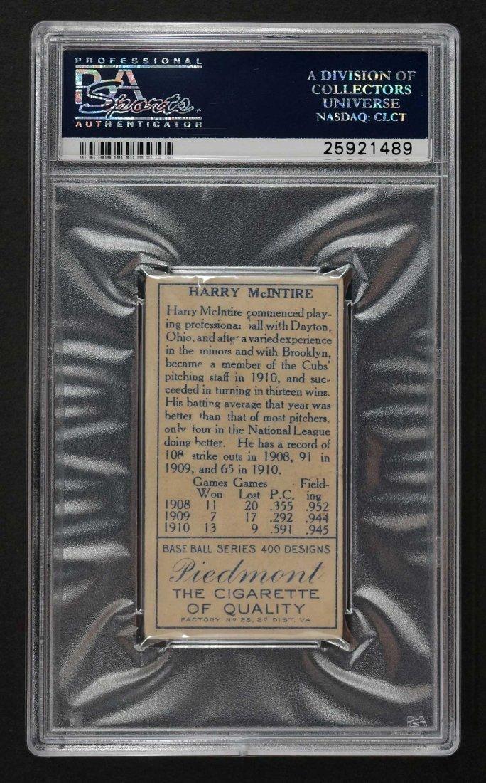 1911 T205 Gold Border Harry McIntire (PSA 4) - 2