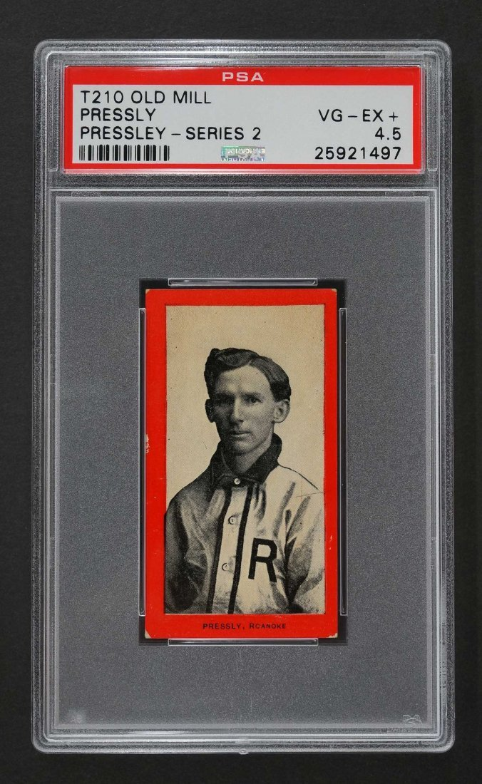 1910 T210 Old Mill Pressly, Series 2 (PSA 4.5)