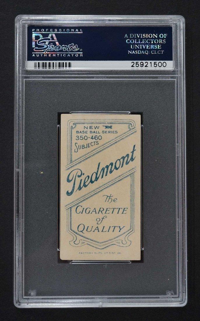 1909-11 T206 Piedmont Hughie Jennings Both Hands - 2
