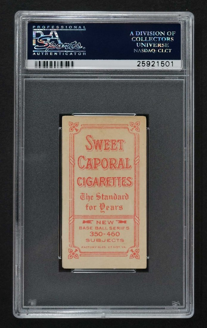 1909-11 T206 Sweet Caporal Larry Doyle N.Y. Nat'l, With - 2