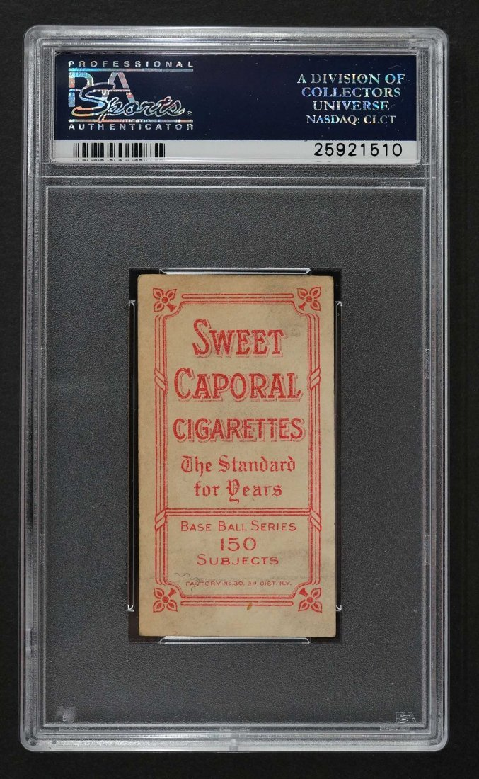 1909-11 T206 Sweet Caporal Walter Johnson 150/25 Walter - 2