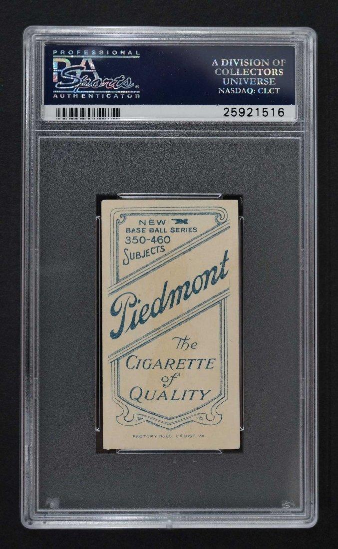 1909-11 T206 Piedmont 350-460/25 Bill Bardley With Bat - 2