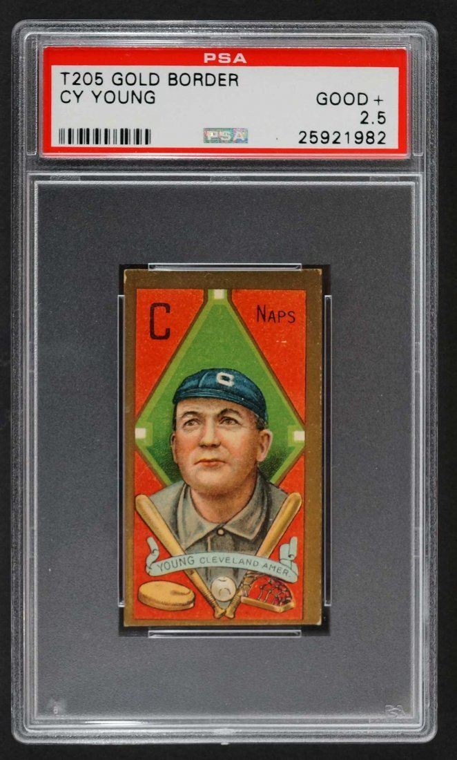 1911 T205 Gold Border Cy Young (PSA 2.5) Provenance:
