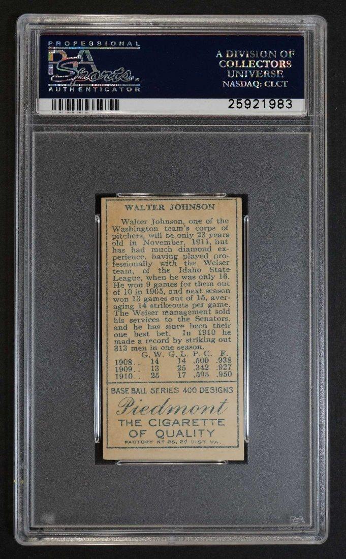 1911 T205 Gold Border Walter Johnson (PSA 2.5) - 2