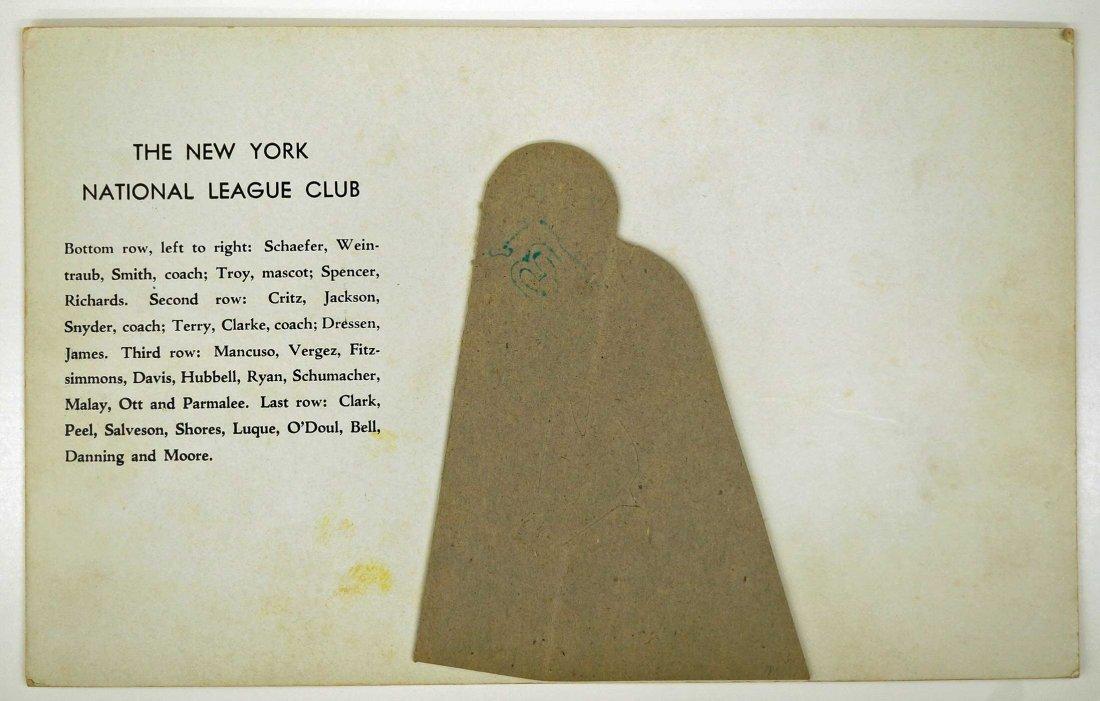New York Giants ''World Champions 1933'' 1933 R309-1 - 2