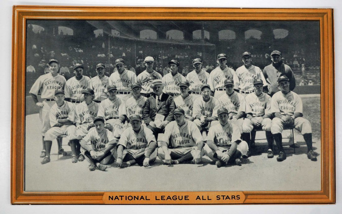 National League All-Stars 1933 R309-1 Goudey Premium.