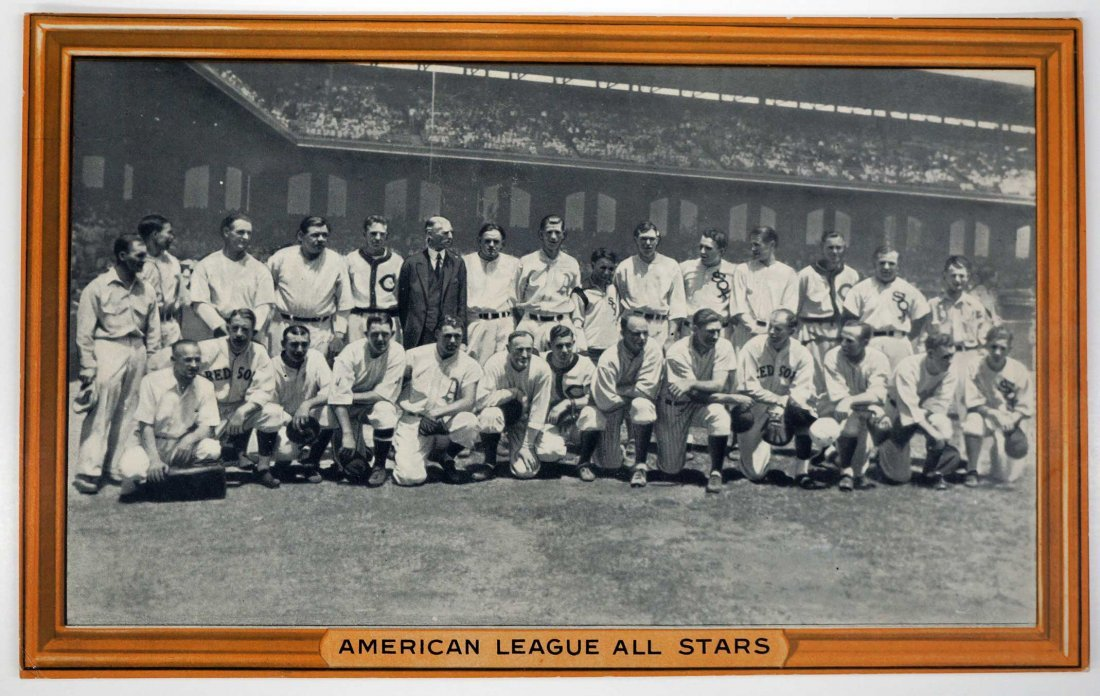 American League All Stars 1933 R309-1 Goudey Premium.