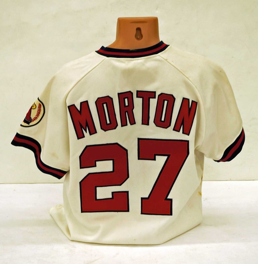 Bubba Morton California Angels Old Timers Game Uniform. - 2