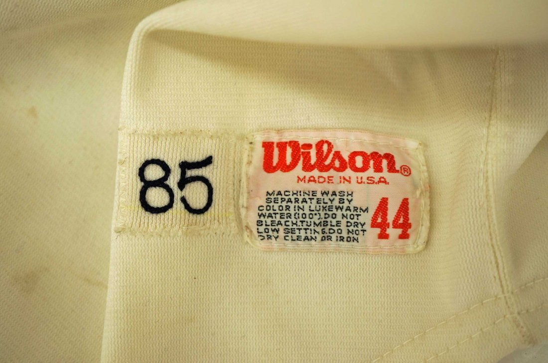 Bubba Morton California Angels Old Timers Game Uniform. - 4