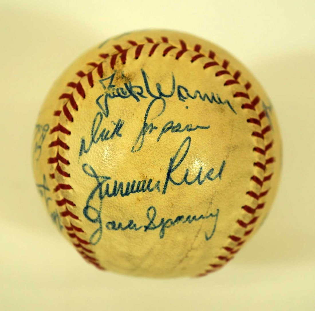 1965 Seattle Angels Team Signed Baseball. Ball contains - 5