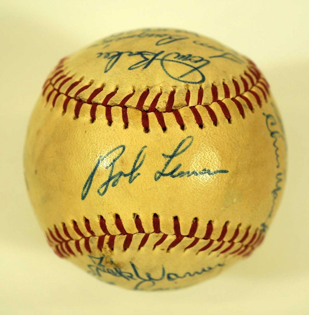 1965 Seattle Angels Team Signed Baseball. Ball contains - 6