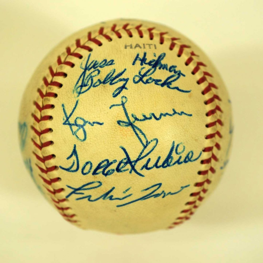 1967 Seattle Angels Team Signed Baseball. Ball includes - 2
