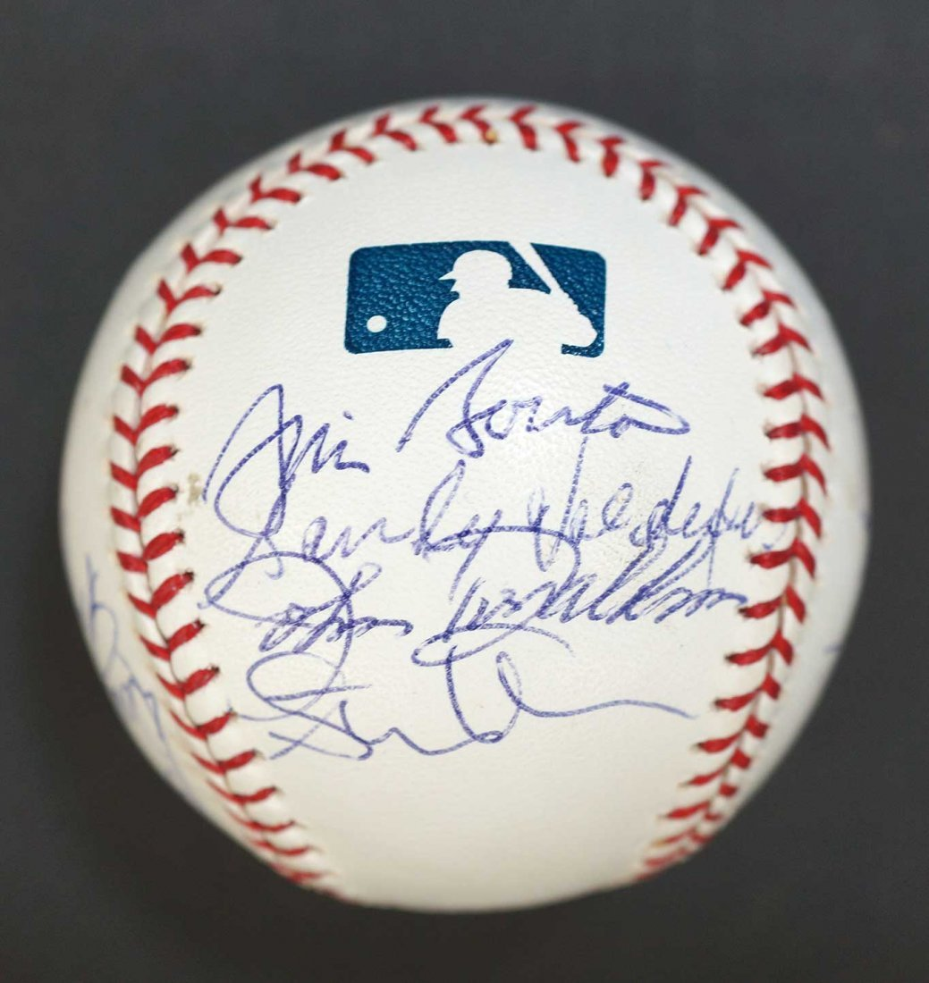 Seattle Pilots Team Members Signed Baseball. Signed by - 3