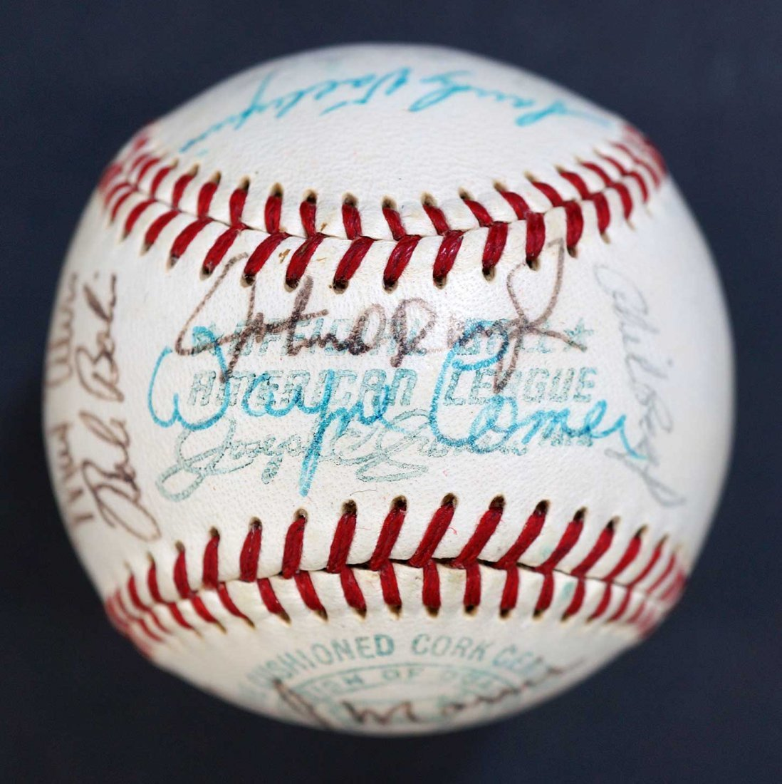 1970 Milwaukee Brewers Team Signed Baseball. Includes